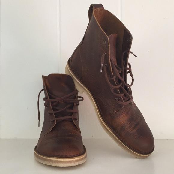 a88d220d87c Clarks Men's Desert Mali Rust Leather